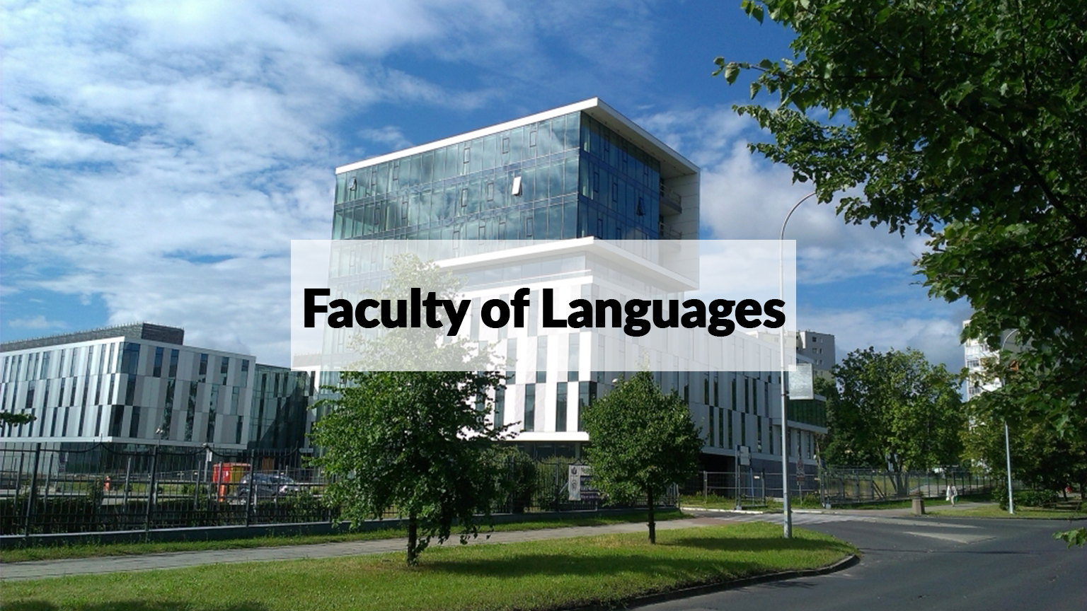 Gdansk Faculty of Languages